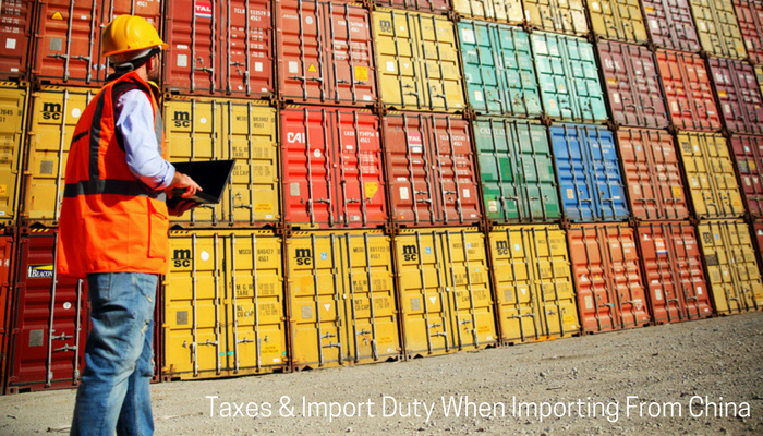 Importing from China to Australia - Understanding Taxes and Import Duty